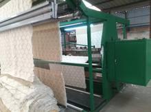 Processing of loop velvet scarf